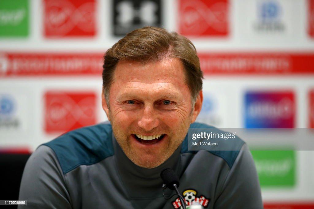 Southampton Press Conference : News Photo