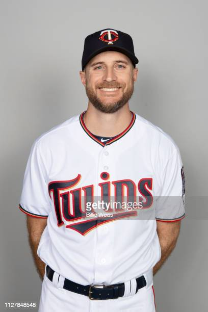 Manager Rocco Baldelli of the Minnesota Twins poses during Photo Day on Friday February 22 2019 at CenturyLink Sports Complex in Fort Myers Florida