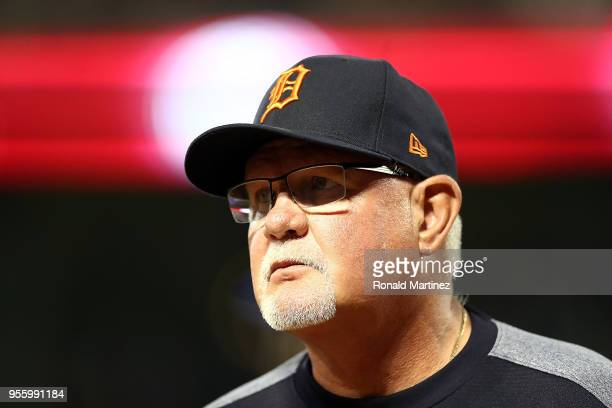 Manager Ron Gardenhire at Globe Life Park in Arlington on May 7 2018 in Arlington Texas