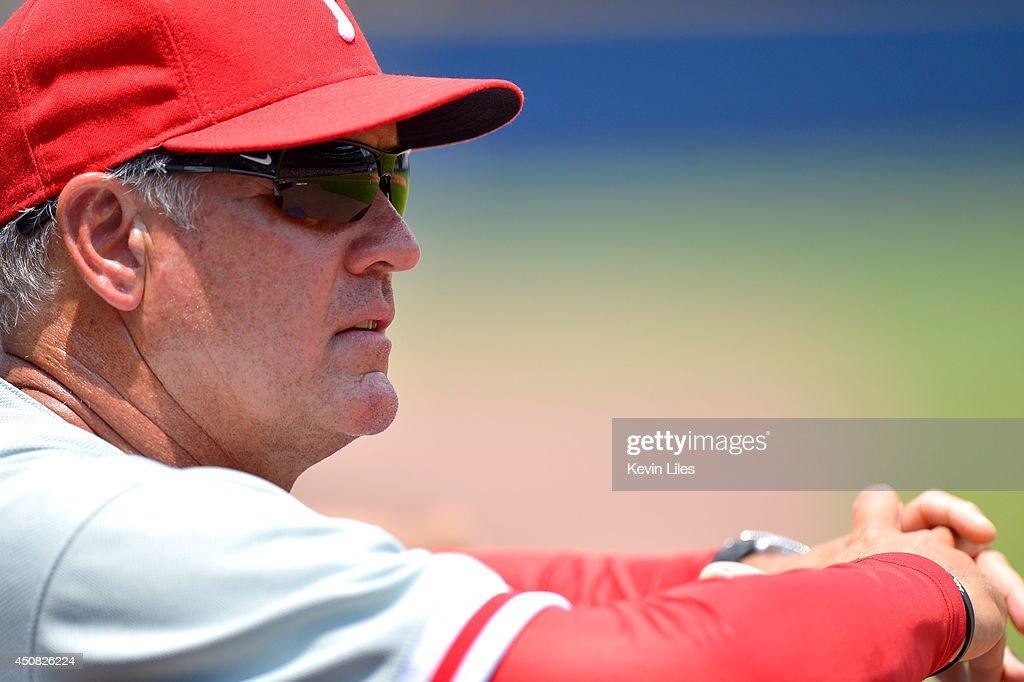 Philadelphia Phillies v Atlanta Braves : Fotografia de notícias