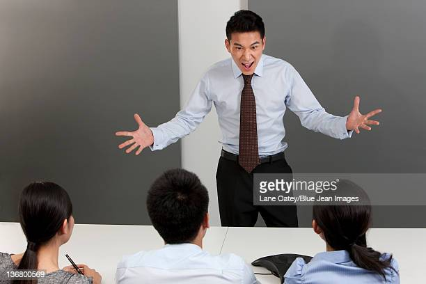 Manager Shouting at Employees