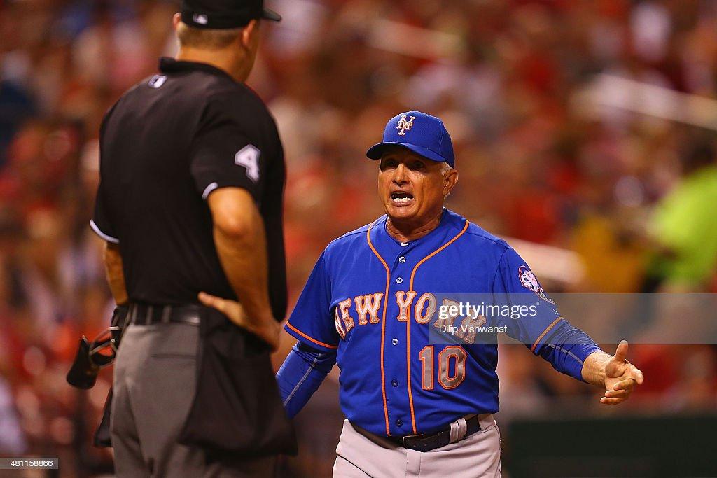 New York Mets v St Louis Cardinals : News Photo