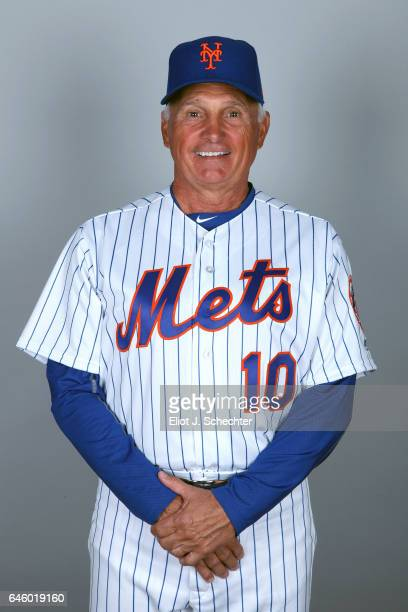 Manager Terry Collins of the New York Mets poses during Photo Day on Wednesday February 22 2017 at Tradition Field in Port St Lucie Florida