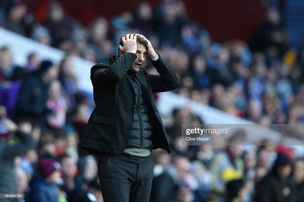 Aston Villa v Stoke City - Premier League : News Photo