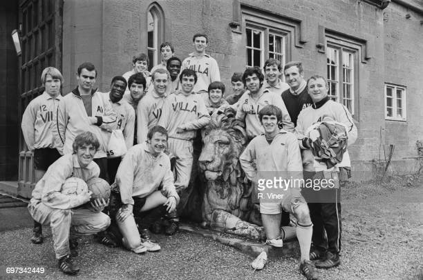 Manager Tommy Docherty training with Aston Villa FC at Lilleshall Shropshire 18th November 1969