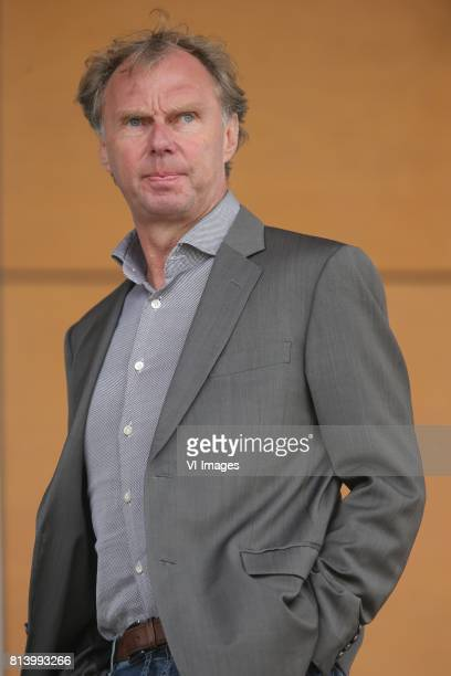 Manager voetbal Stan Valckx of VVV Venlo during the friendly match between VVVVenlo and PAOK Saloniki at Sportpark de Schuytgraaf on july 12 2017 in...
