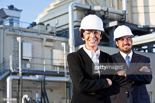 Managers at power generation facility