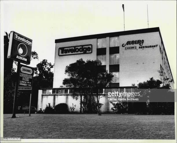 ManagerThe Auburn Travelodge Motel seen from Parramatta Rd where prison escapee Gordon Jol Spent there hours before being recaptured by police nearby...