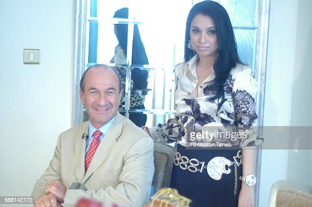 Managing and General Director of Salvatore Ferragamo Italia SpA Michele Norsa and Sheetal Mafatlal