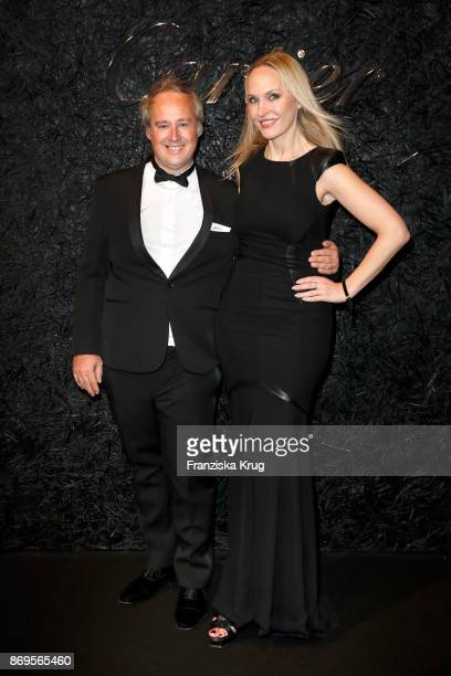 Managing Director Cartier Northern Europe Renaud Lestringant and Anne MeyerMinnemann attend the When the Ordinary becomes Precious #CartierParty at...