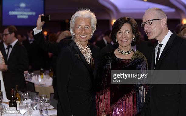 Managing Director Christine Lagarde attends the White House Correspondents' Association annual dinner on April 30, 2016 at the Washington Hilton...