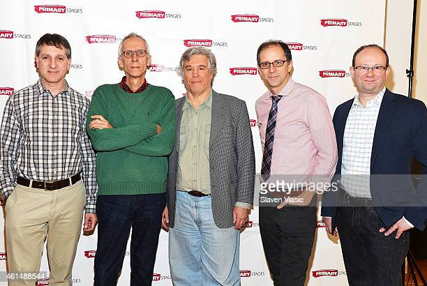 Managing Director Elliot Fox playwright David Ives founder and executive producer Casey Childs director John Rando and artistic director Andrew...