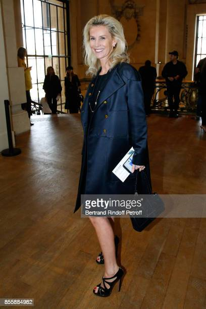 Managing Director Europe of Management Artist Laura Restelli attends the Elie Saab show as part of the Paris Fashion Week Womenswear Spring/Summer...
