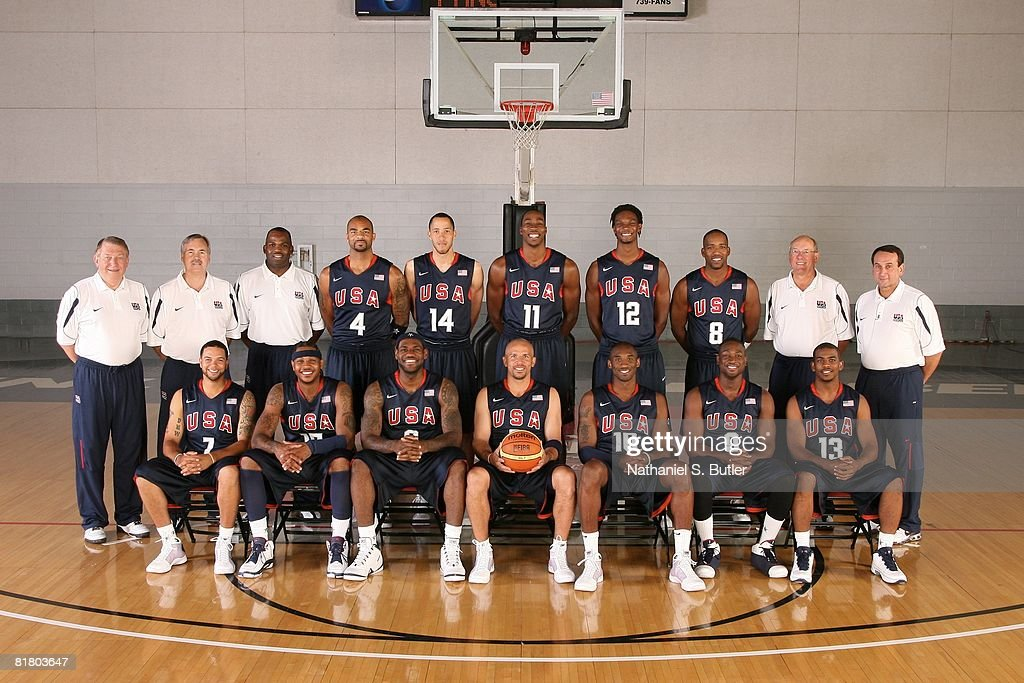 USA Basketball Senior Men's Team Portrait