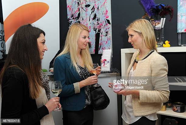 Managing director LeaSophie Cramer and guests attend Amorelie PopUp Store Opening on February 7 2014 in Munich Germany