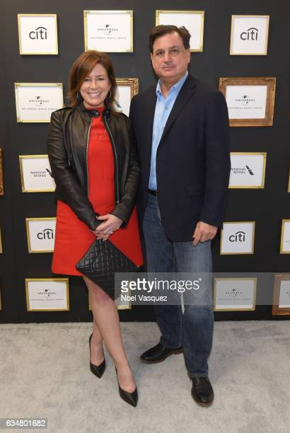 Managing Director Media Advertising and Global Entertainment for Citi Jennifer Breithaupt and Head of US Branded Cards Citi Ralph Andretta attend Sir...