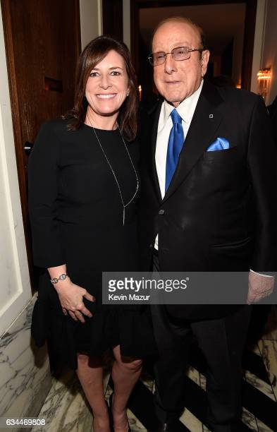Managing Director Media Advertising and Global Entertainment of Citi Jennifer Breithaupt and Clive Davis attend Citi Presents 2017 Billboard Power...