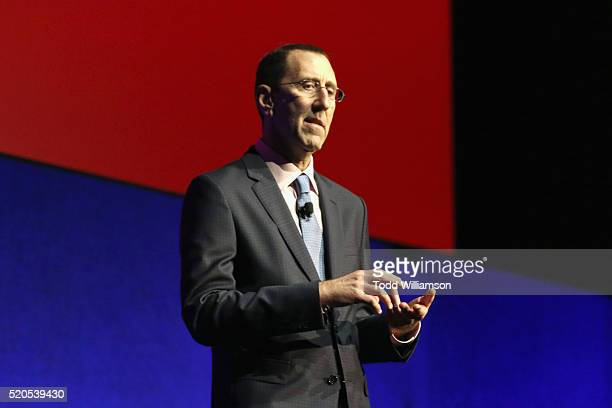 Managing Director Mitch Neuhauser speaks onstage during the CinemaCon 2016 Gala Opening Night Event: Paramount Pictures Highlights its 2016 Summer...