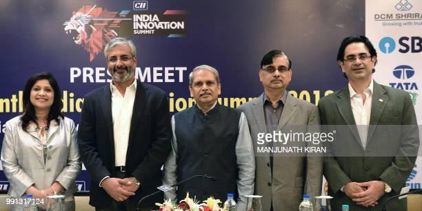 Managing director of 3M India Debarati Sen chairman of the Maini Group Sandeep Kumar Maini chairman of Axilor Ventures Kris Gopalakrishnan cofounder...