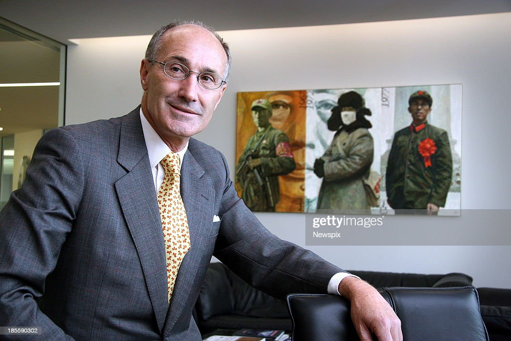 Managing Director of Platinum Asset Managemen, Kerr Neilson poses for a photo on February 8, 2007 in Sydney, Australia.