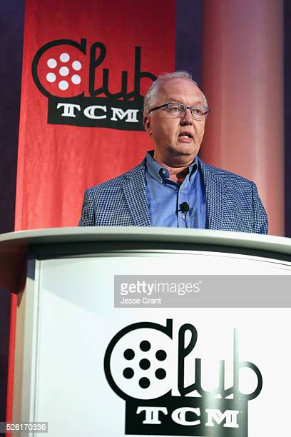 Managing Director of Preservation and Foundation Programs for the Academy of Motion Picture Arts and Sciences Randy Haberkamp speaks onstage at Man's...