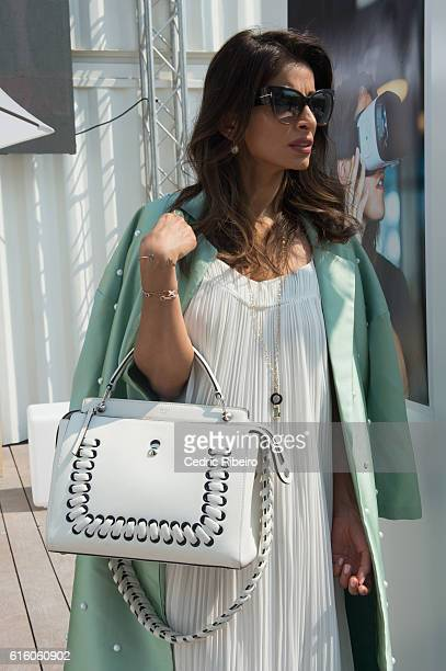 Managing Director of RR Co Rosemin Manji attends Fashion Forward Spring/Summer 2017 at the Dubai Design District on October 21 2016 in Dubai United...