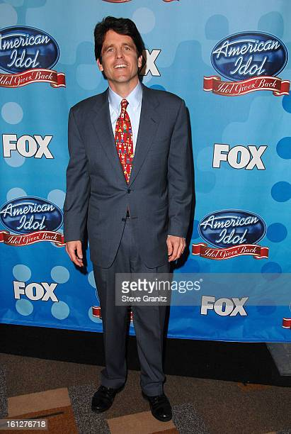 Managing Director of Save the Children Mark Shriver arrives at the taping of Idol Gives Back held at the Kodak Theatre on April 6 2008 in Hollywood...