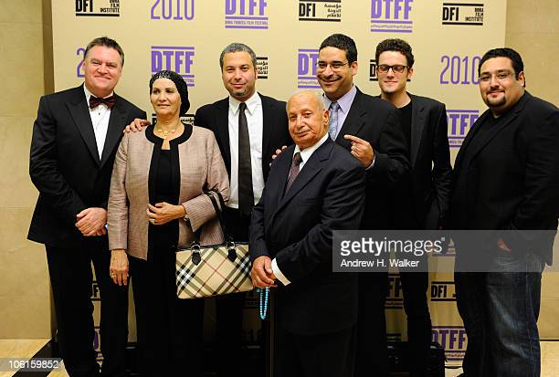 Managing Director of Smile Productions Peter Howarth-Lees, Fatima Ahmed, director/comedien Ahmed Ahmed, Abou Bakr Ahmed, comedien Erik Griffin,...