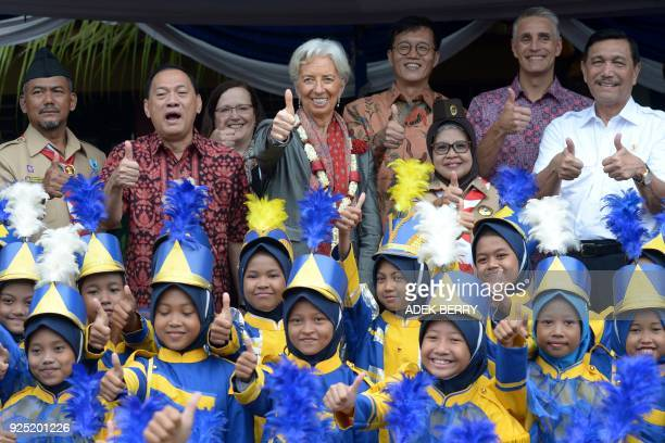 Managing Director of the International Monetary Fund Christine Lagarde Bank Indonesia Governor Agus Martowardojo Indonesia's Coordinating Minister of...