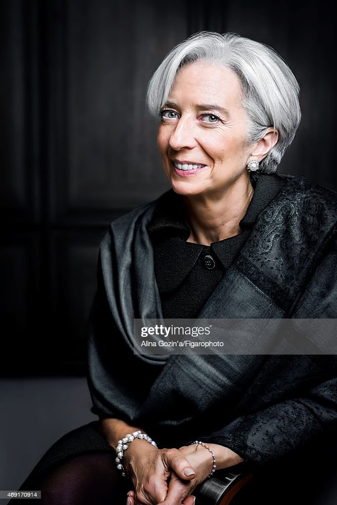 Christine Lagarde, Madame Figaro, February 27, 2015