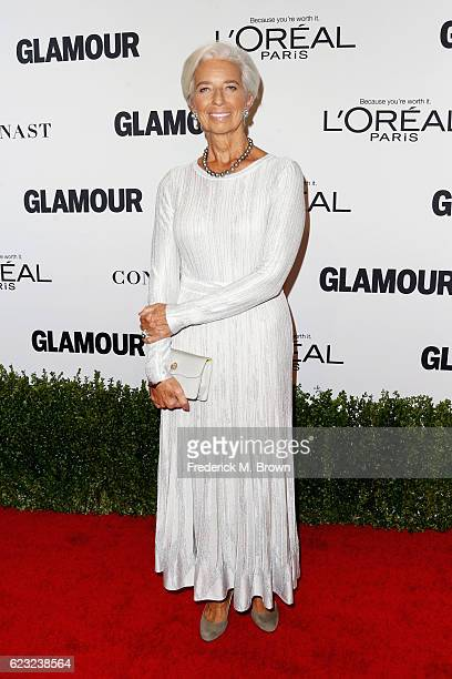 Managing Director of the International Monetary Fund Christine Lagarde attends Glamour Women Of The Year 2016 at NeueHouse Hollywood on November 14...