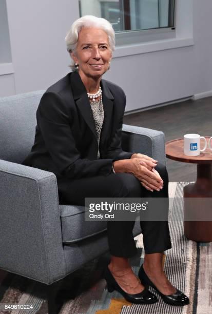 16 Christine Lagarde Visits Linkedin Pictures, Photos