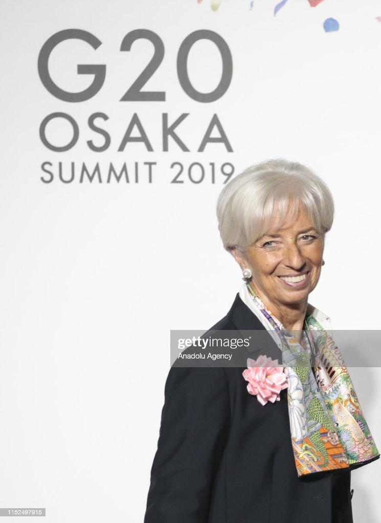 G20 Summit in Osaka : News Photo