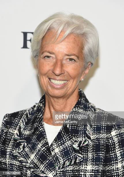 Managing Director of the International Monetary Fund Christine Lagarde attends the 2019 Forbes Women's Summit at Pier 60 on June 18 2019 in New York...