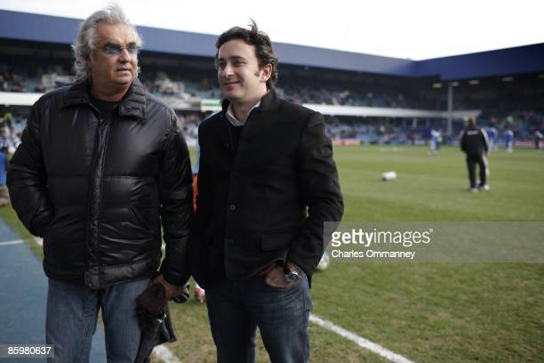 Managing director of the Renault Formula 1 racing team Flavio Briatore on January 30, 2009 in London, England. The former Italian playboy whose...