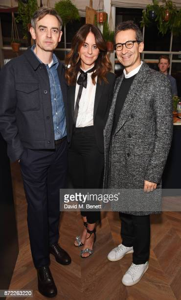 MR PORTER Managing Director Toby Bateman NETAPORTER and MR PORTER President Alison Loehnis and YOOX NETAPORTER Group Chairman and CEO Federico...