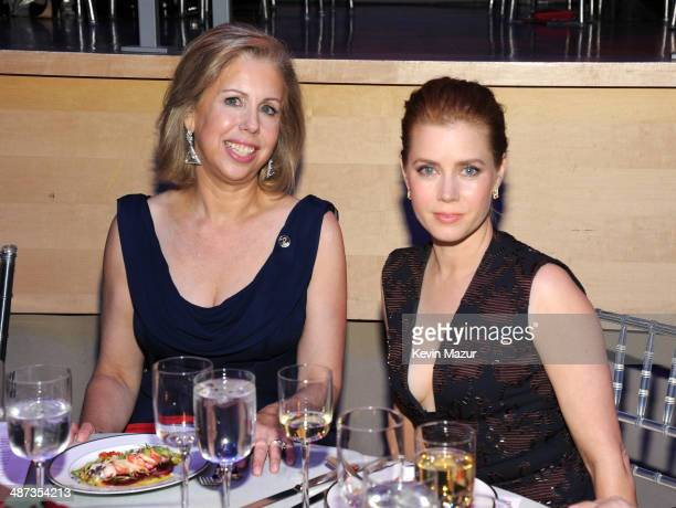 Managing editor Nancy Gibbs and Amy Adams attend the TIME 100 Gala, TIME's 100 most influential people in the world at Jazz at Lincoln Center on...