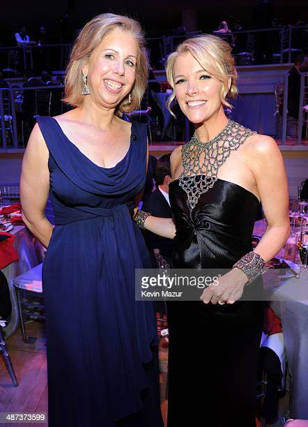 TIME managing editor Nancy Gibbs and Megyn Kelly attend the TIME 100 Gala TIME's 100 most influential people in the world at Jazz at Lincoln Center...