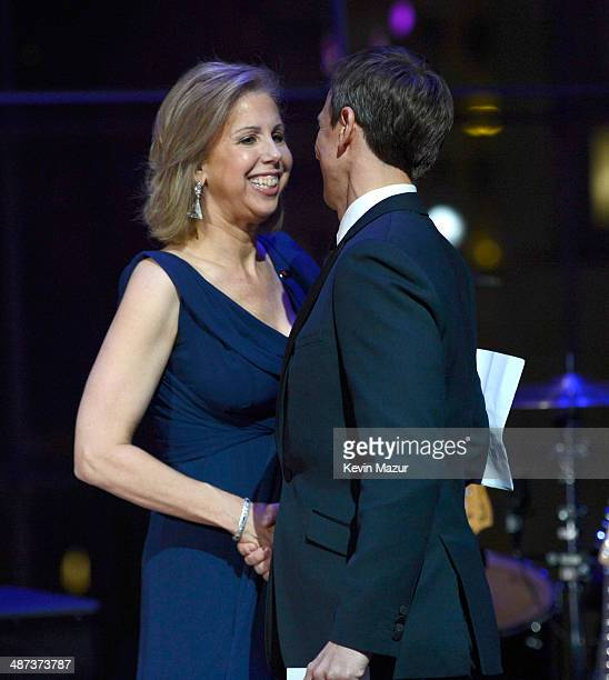 TIME managing editor Nancy Gibbs and Seth Meyers attend the TIME 100 Gala TIME's 100 most influential people in the world at Jazz at Lincoln Center...
