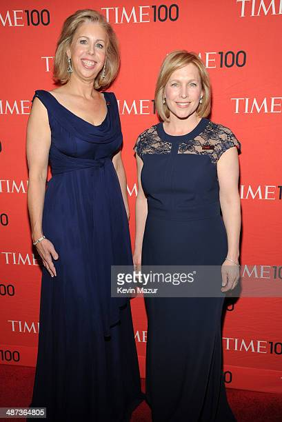 Managing editor Nancy Gibbs and United States Senator from New York Kirsten Gillibrand attend the TIME 100 Gala, TIME's 100 most influential people...