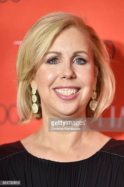 Managing editor Nancy Gibbs attends 2016 Time 100 Gala, Time's Most Influential People In The World red carpet at Jazz At Lincoln Center at the Times...