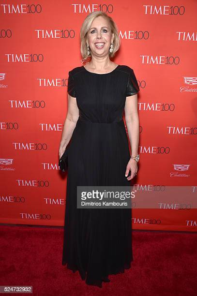 TIME managing editor Nancy Gibbs attends 2016 Time 100 Gala Time's Most Influential People In The World red carpet at Jazz At Lincoln Center at the...