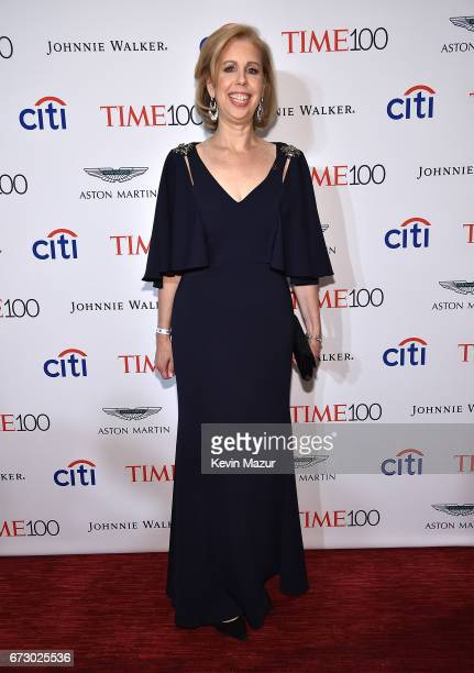 Managing editor Nancy Gibbs attends 2017 Time 100 Gala at Jazz at Lincoln Center on April 25, 2017 in New York City.