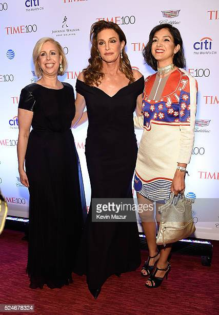 Managing editor Nancy Gibbs, Caitlyn Jenner and TIME deputy managing editor Radhika Jones attend the 2016 Time 100 Gala, Time's Most Influential...