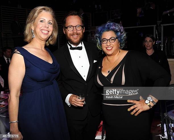 TIME managing editor Nancy Gibbs Christopher Noxon and Jenji Kohan attend the TIME 100 Gala TIME's 100 most influential people in the world at Jazz...