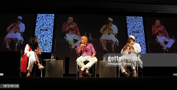 Managing Editor of Tehelka and moderator Shoma Chaudhury talks to Author Richard Eaton and Jamiat UlemaeHind leader Maulana Mahmood Madani on 'How...