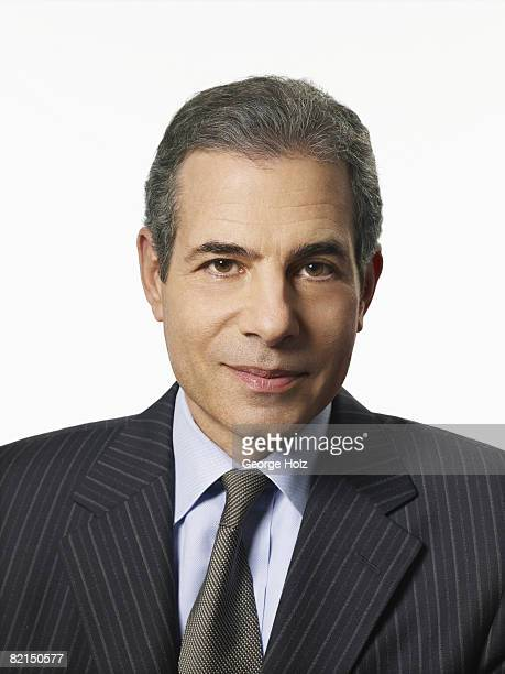 Managing editor of Time Magazine Richard Stengel poses for Time Magazine on December 3 2007 in New York City