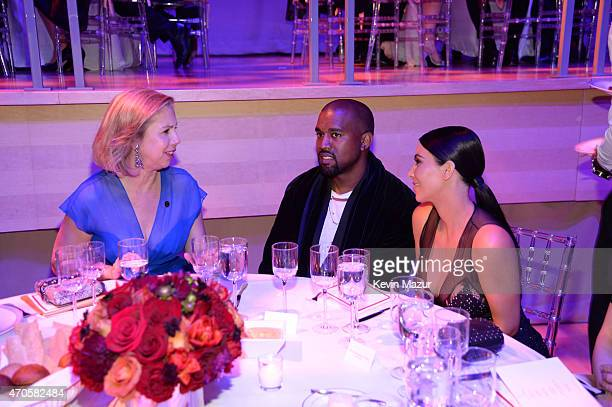 Managing Editor, Time Magazine, Nancy Gibbs, Kanye West and Kim Kardashian West attend TIME 100 Gala, TIME's 100 Most Influential People In The World...