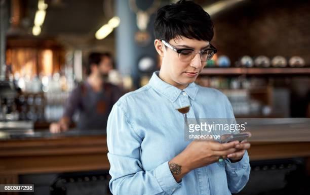 Verwaltung ihrer Bar mit einige intelligente mobile apps