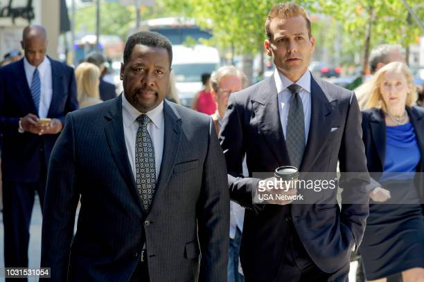 SUITS Managing Partner Episode 810 Pictured Wendell Pierce as Robert Zane Gabriel Macht as Harvey Specter